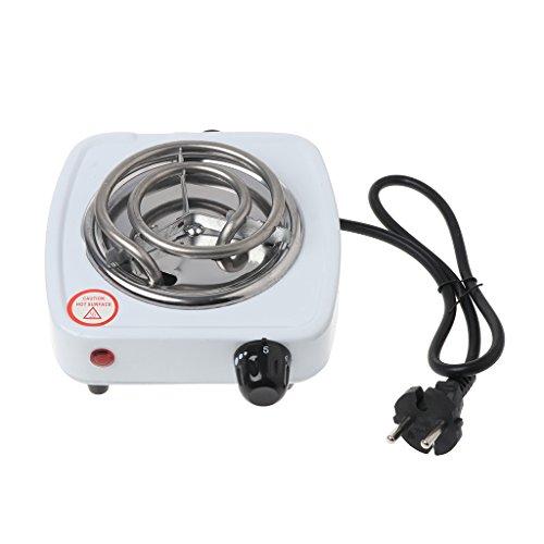 BIlinli Réchauffeur portatif d'appareils de Cuisson de Voyage de brûleur de Plaque chauffante de cuiseur électrique 500W