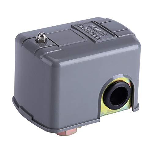 Électrique Interrupteur Commutateur de Contrôle de Pression de Ppompe à Eau de 40-60 PSI à Double Ressort Réglable pour Pompe à Eau de Jardin d'injection Auto-Amorçante