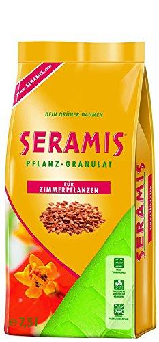 Seramis Ton-Granulat als Pflanzenerden-Ersatz für Topfpflanzen, Grün-, Blühpflanzen und Kräuter, Pflanz-Granulat, Ton-Farbe, 7,5 Liter