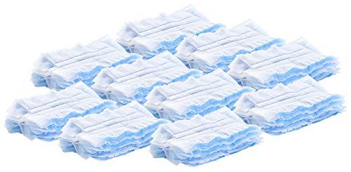 PEARL Zubehör zu Antistatik Staubwedel: Mikrofaser-Ersatztücher für Staubwedel, 10 Stück (Staubwedeltücher)