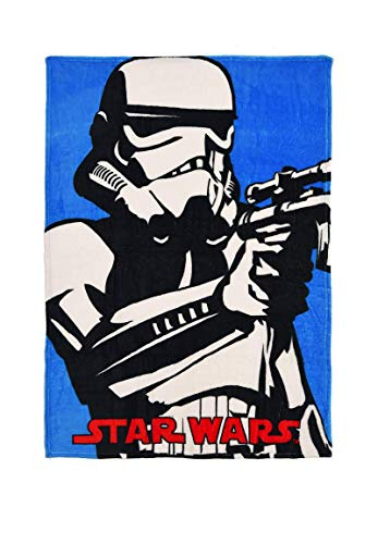 yuhu Star Wars Stormtrooper Kinder Polar Fleece Decke Kuscheldecke 150 x 100 cm