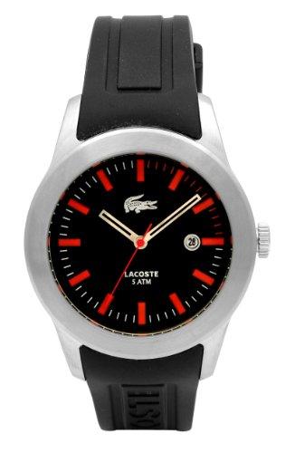 Lacoste LAW2010414 - Reloj para Hombres, Correa de Goma Color Negro