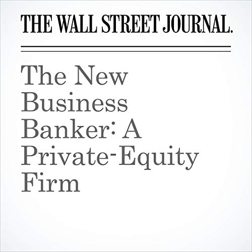 The New Business Banker: A Private-Equity Firm copertina