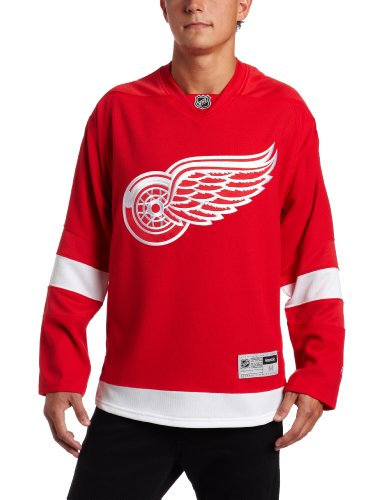 NHL Detroit Red Wings Premier Jersey, Red, Small