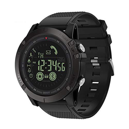 Smartwatch, Ángulo De Visión Completo, Tiempo De Espera Prolongado, Reloj Impermeable Bluetooth Con Monitorización De Frecuencia Cardíaca, Seguimiento De Movimiento, Compatible Con Android E IOS,A