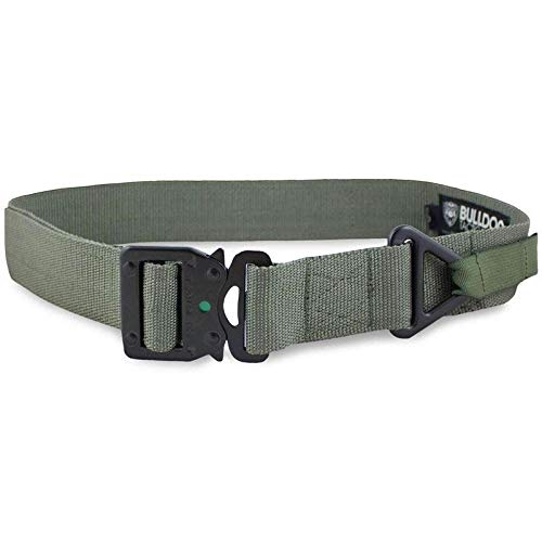 Bulldog Tactical broekriem Riggers Cobra Double Green - S