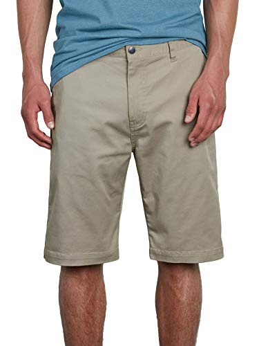 Volcom Men's Vmonty Stretch Chino Short, KHAKI, 38