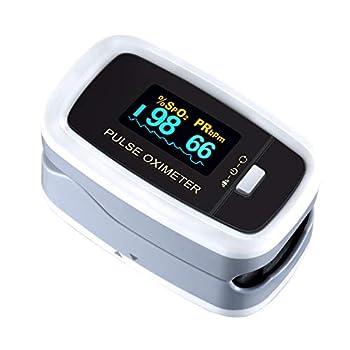 HAUTE QUALITÉ. Cet oxymètre est livré avec une bonne qualité et une forte applicabilité, qui a été certifiée par les professionnels de la santé. Il mesure précisément le SpO2 et le pouls en environ 10 secondes. FACILE À UTILISER. Il est seulement néc...