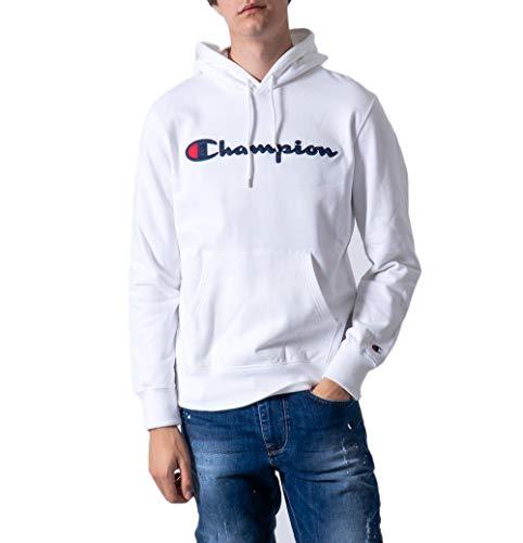 Champion Heren Grafische trui met capuchon, Wit