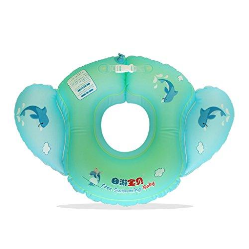 Rose iSuper Anneau gonflable pour Natation pour Enfants Si/ège flotteur piscine Bain Eau et poign/ée de s/écurit/é
