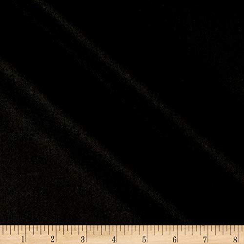Robert Kaufman Kona Cotton Quilt Fabric By The Yard, Black