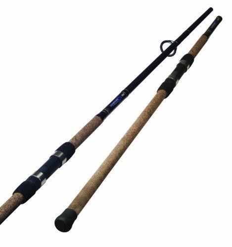 Okuma Longitude Surf Graphite Rods (Large, Black/Blue/Silver)