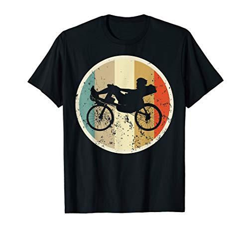 Liegerad Liegefahrrad Fahrrad Radsport Retro Vintage Grunge T-Shirt
