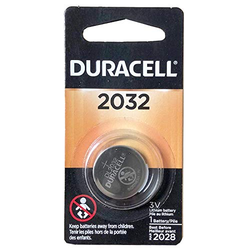 Fresh Duracell DL2032 3v Lithium Batteries
