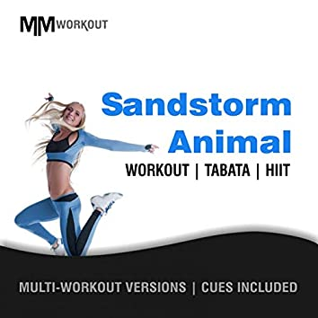 Sandstorm Animal, Workout Tabata HIIT (Mult-Versions, Cues Included)