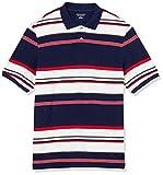 Amazon Essentials Regular-Fit Cotton Pique Polo Shirt Shirts, Grande Verrogada, M