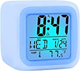 KIDS! NEVER BE LATE AGAIN— waking up early is a daily struggle for most adults, let alone little kids! Bring a stop having your mornings filled with screaming and shouting and gloomy groans. With our multi-functional kid's alarm clock that is special...