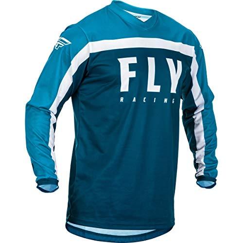 Fly Racing Hemd F-16 Kids Navy-blau-weiß