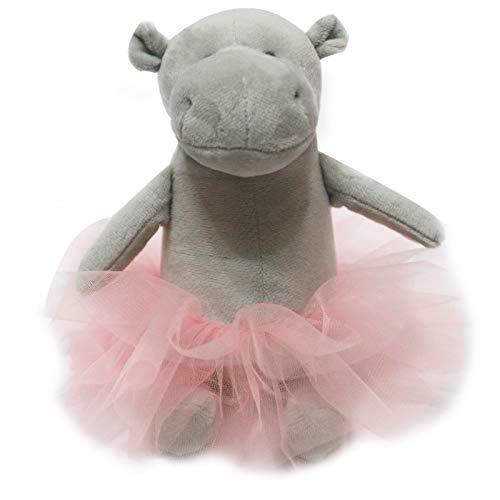 miaomiao Juguete de Peluche Juguete De Peluche De Moda Bailarina Hipopótamo Princesa Hipopótamo Muñeca para Niña Almohada Animal Almohada Suave Niña Regalo De Cumpleaños