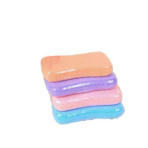 Pied Scrub lave Pierre ponce pour Hard Morte peau haut de gamme Pédicure Exfoliant fichiers Acupoint Massage aléatoire couleur 1pcs