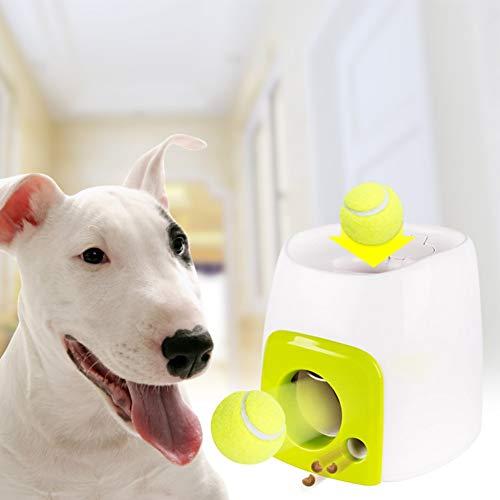PowerBH Hund Intelligenz Training Toy Interactive Sphärische Launcher 2 in 1 Intelligenz Training Toy Pet Interactive Toy