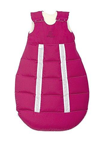 Odenwälder Baby-Schlafsack Prima Klima Faserkugel, Größe:130;Design:fuchsia