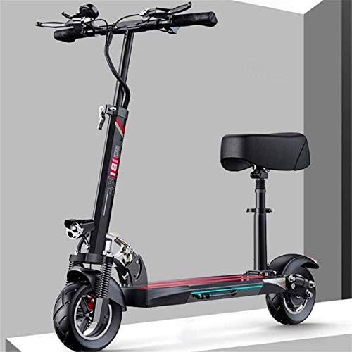 RDJM Bici electrica Bicicletas rápidas y Eléctrica en Adultos de 11 Pulgadas de vacío neumáticos Off-Road E-Scooter Doble Freno de Disco máxima 120 km de Distancia de Funcionamiento de Viajes Tráfico