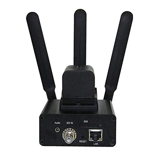 H.265/H.2644G LTE WiFi Portable SDI Video Encoder for IPTV, Live Stream Broadcast Support rtmp RTSP UDP and Facebook Youtube ustream wowza plat Forms
