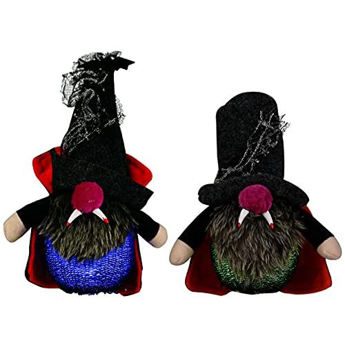 Halloween Peluche GNOME, Tomte Sueco Hecho A Mano Decoraciones del Elfo De Tomte Scandinavian Gnomes De Peluche para Adornos De Halloween