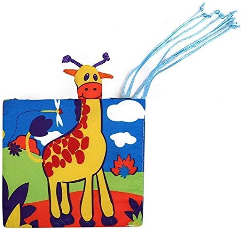 hsj LF- Quiet Buch Besetzt Buch Baby-Newborn weiches Tuch-Buch Learning Education Learning Gefühl Buch for Kinder Weihnachten Lernen