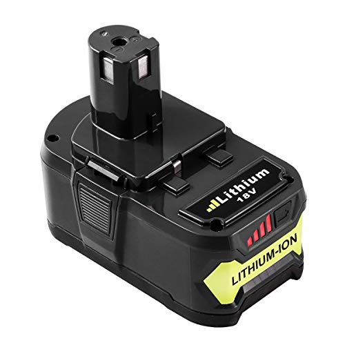 6.0AH for Ryobi 18v Battery Replace Ryobi One Plus Lithium Battery P100 P102 P104 P105 P108 P107