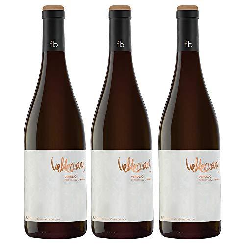 Valdecuevas Verdejo Fermentado en barricas Vino Blanco Caja WEB de 3 Botellas 75 cl
