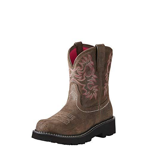 Ariat Women's Fatbaby Collection Western Cowboy Boot, Dark Barley, 7.5 B US