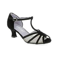 Merlet Karmina Open Toe Mesh Ballroom Dance Shoe