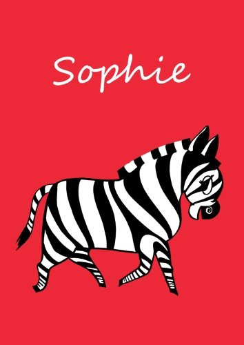 Malbuch / Notizbuch / Tagebuch - Sophie: DIN A4 - blanko