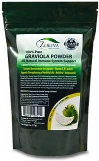 Graviola Leaf Powder 8 oz (Soursop) Annona muricata - Premium Quality 100% Pure