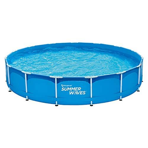 Summer Waves Frame-Pool-Set Ø x H: 457 x 84 cm, Fassungsvermögen: 13 m³