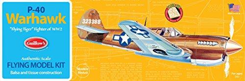 Guillows 1:32 Curtiss P 40 Warhawk (englische Version)