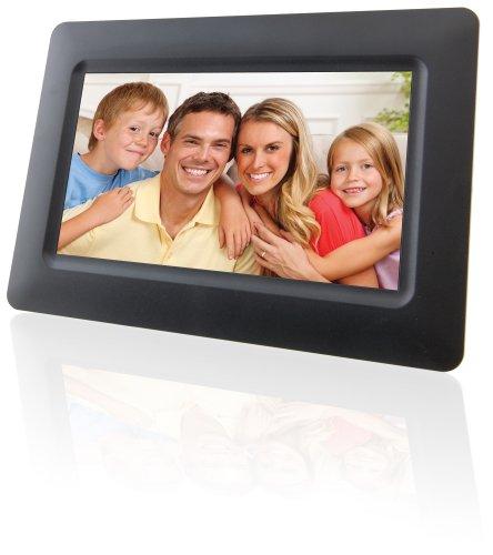 digital memory frames GPX, Inc. PF702B 7-Inch Digital Photo Frame with SD/MMC Memory Card Reader (Black)