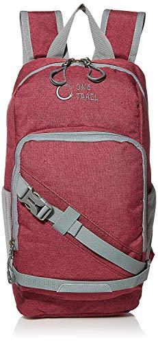 OneTrail Mini Me 10 Liter Daypack | Compact Hiking Daypack (Crimson)