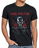 Photo de CottonCloud No Fate T-Shirt Homme Terminator Skynet, Taille:3XL par