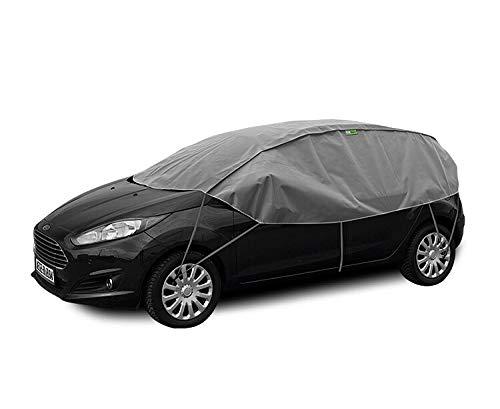 Halbgarage Winter S-M kompatibel mit OPEL Corsa ( C ) bis 2006 UV Schutz Auto Abdeckung