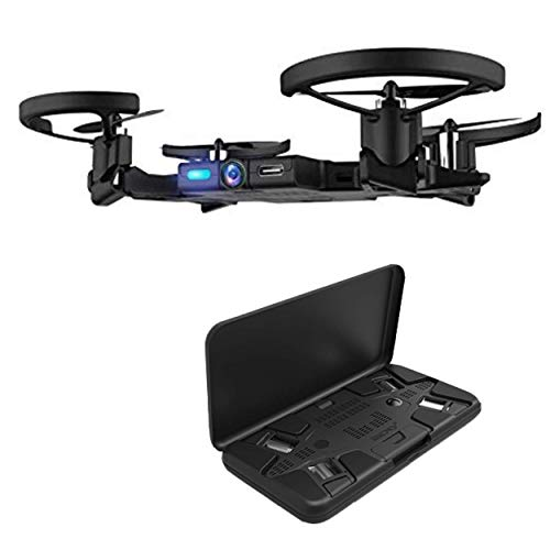 SELFLY Pocket Dock Case - Dock Your Thinnest Ever Flying Camera, in This Slim Chic Case, Have It Always with You in Your Pocket, Never Lose A Moment. Autonomous Flight, Easy to use, Live 720p Video