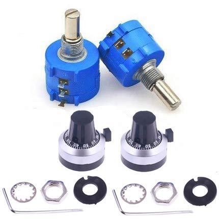 Great interest CenryKay Max 63% OFF 10-Turn Rotary Wire Precision Wound Prec Potentiometer