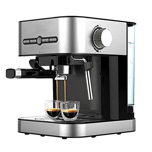 Espresso Machine Semi-Automatic Coffee Maker, 15BAR Cappuccino Machine with Milk Frother, 1050W Countertop Coffee Machine for Home Office