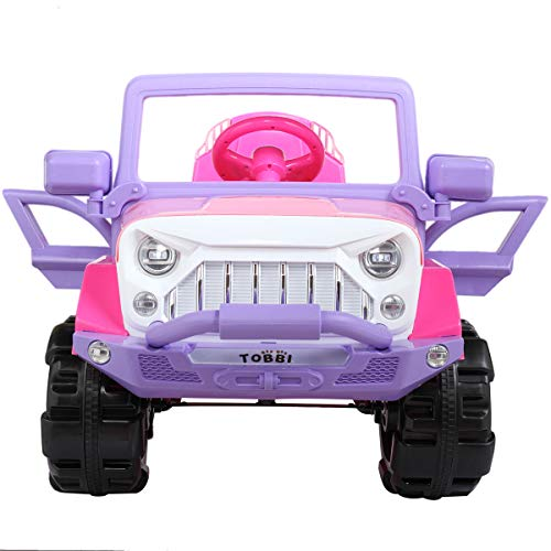 BWM.Co Kids 12V Electric Powered Truck Ride On SUV w/ RC Indoor Outdoor Driving Toy Vehicle