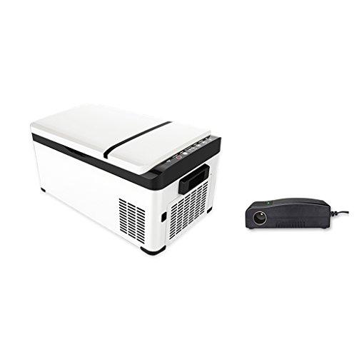 SKC Koelcompressor voor in de auto, 12 V-24 V, mini-vriezer, kleine auto met dubbele gebruiksmogelijkheid, koelruimte