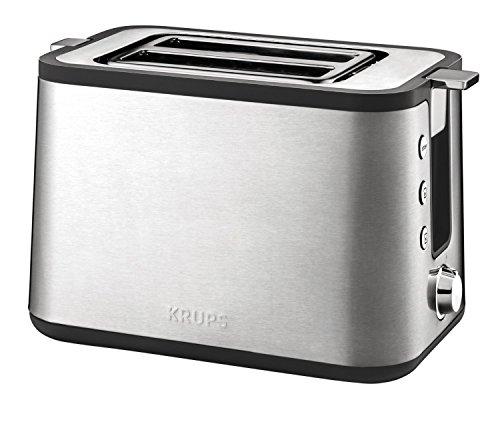 Krups Premium -Toaster Control Line KH 442D,Kompakt- Toaster Testsieger Stiftung Warentest 04/2016