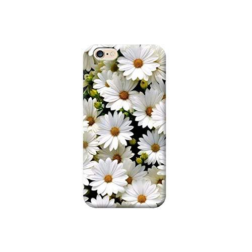 TheBigStock Cover Custodia per Tutti Modelli Apple iPhone x 8 7 6 6s 5 5s Plus 4 4s 5c TPU - AF16 Margherite, iPhone 6