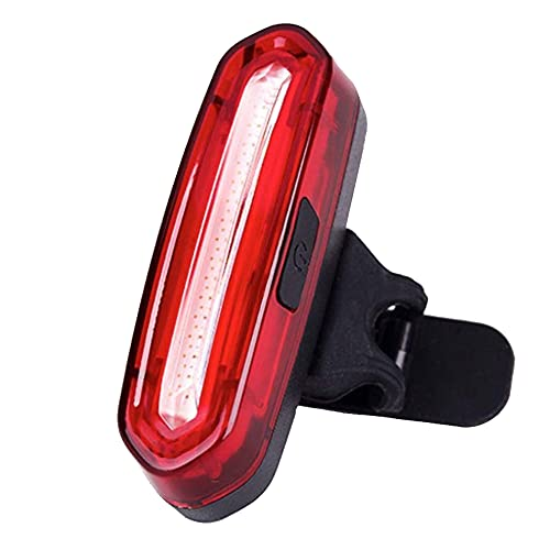 Fahrrad Rücklicht LED Klein,Fahrradbeleuchtung USB Aufladbar mit Batterie,IPX4 Wasserdicht Fahrradlampen,STVZO Zugelassen Fahrradlicht Hinten,LED Rücklicht für Rennrad MTB